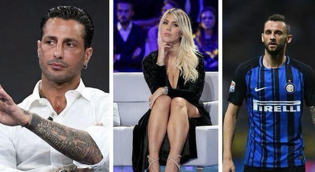 Fabrizio Corona a processo per diffamazione: inventò flirt tra Wanda Nara e Brozovic