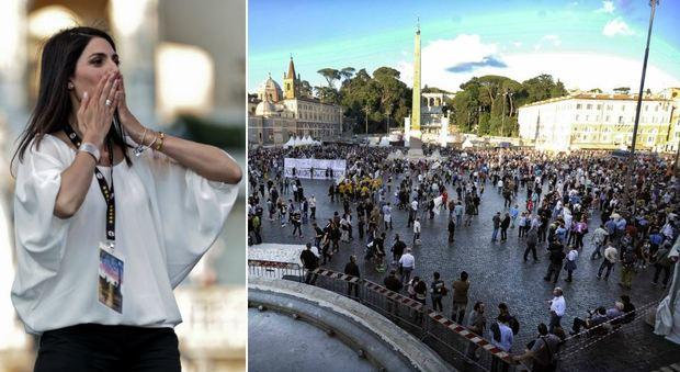 Roma, non c'è Beppe Grillo con Virginia Raggi: nascono i mini direttori territoriali