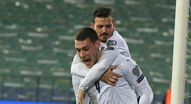 Florenzi e Verratti lasciano il ritiro, Mancini perde i pezzi. Via anche Grifo