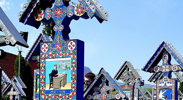Cimitero allegro di Sapanta