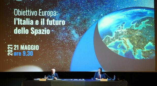 Tabacci e Saccoccia: «Sistema Italia all'avanguardia, ma la corsa allo spazio si vince se l'Europa è unita»