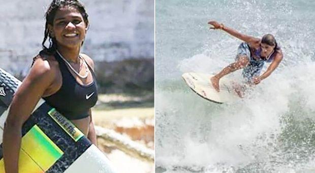 Surf, cade un fulmine in mare: morta folgorata campionessa 23enne