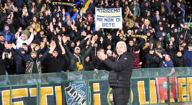 Viterbese, i tifosi salutano la promozione del Monterosi: «Complimenti, ma per noi il derby è un altro»