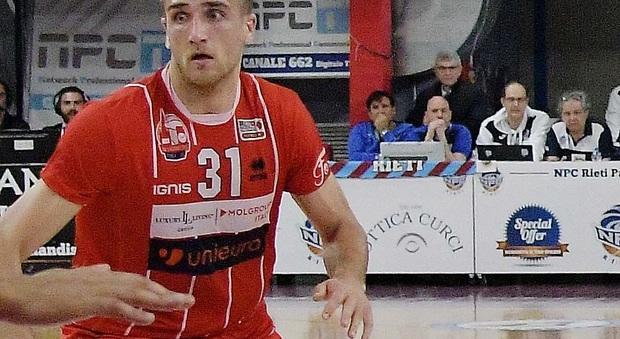Quirino De Laurentiis in maglia Forlì due stagioni fa al PalaSojourner (foto Meloccaro)