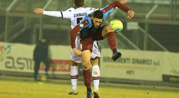 Pasquale De Sarlo autore del gol del Rieti