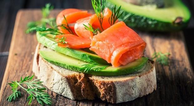 dieta della pelle di salmone