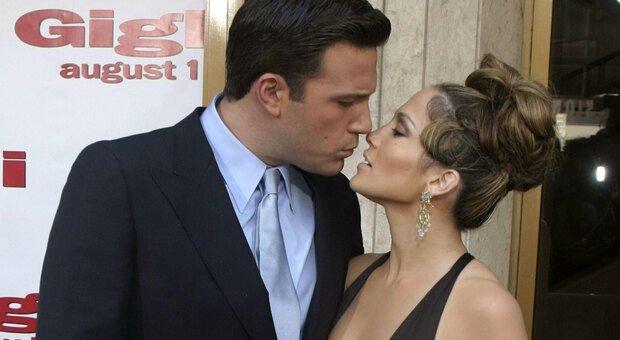 Affleck e Lopez ai tempi della loro relazione