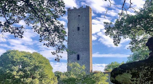 Chia (Soriano nel Cimino): la torre di Piera Paolo Pasolini