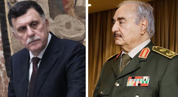 Libia, Serraj e Haftar in stanze separate e Merkel fa la spola