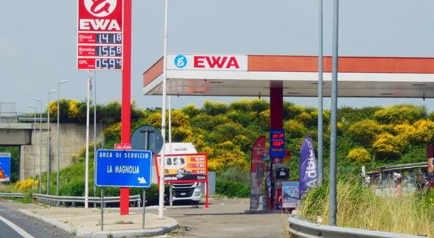 Uno dei distributori Ewa