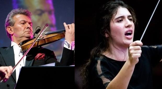 Amici della Musica, la stagione di Foligno parte col botto col violino di Vadim Brodski l'orchestra Rossini e la direzione di Nil Venditti