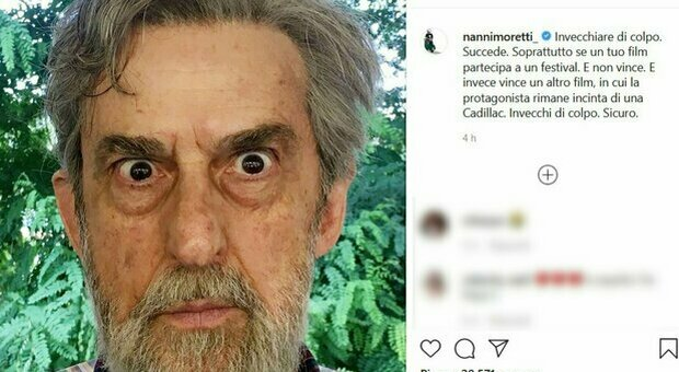 Cannes, Moretti: «Con vittoria Titane invecchiato di colpo». Il post del regista su Instagram: «Succede»