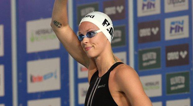 Pellegrini record nei 100 sl vasca corta, l'Aniene vince la Coppa Brema