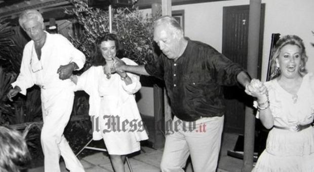 Laura Biagiotti e quelle feste a Fregene con Anthony Quinn