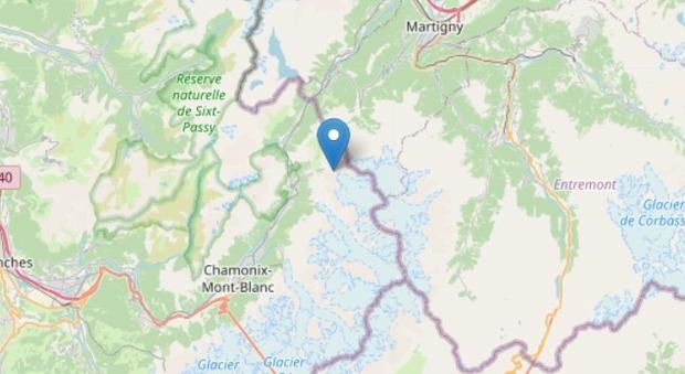 Terremoto sul Monte Bianco, scossa di magnitudo 3.4 al confine con la Svizzera