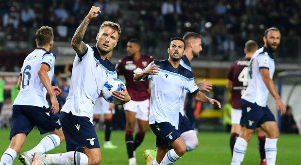 Lazio, Immobile dopo il pari a Torino: «Basta paura, vinciamo il derby»