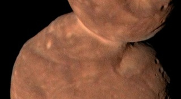 L'asteroide Arrokoth