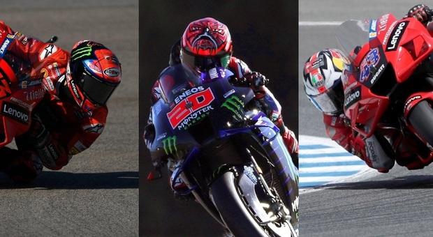 Moto Gp, Quartararo in crisi. Trionfo Ducati: a Jerez vince Miller, 2° Bagnaia e 3° Morbidelli