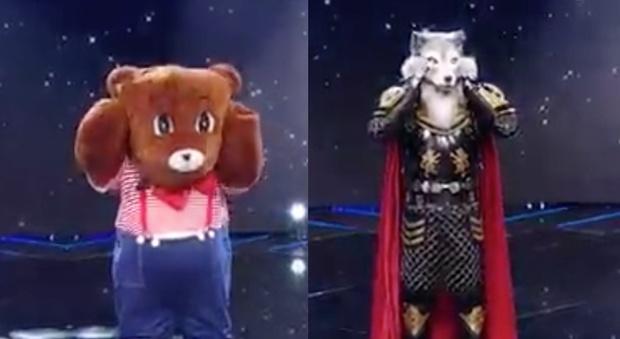 Il cantante mascherato, Orsetto perde lo spareggio con Farfalla e viene smascherato: ecco chi è