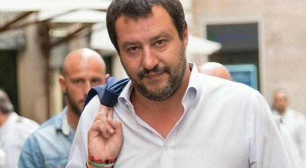 Matteo Salvini leader della Lega