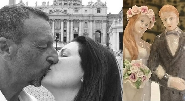 Amadeus e Giovanna Civitillo, matrimonio in chiesa 10 anni dopo le nozze civili
