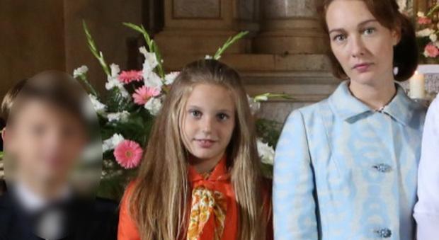 """Vittoria De Paoli, 9 anni, baby star della serie tivù con """"Di padre in figlia"""""""