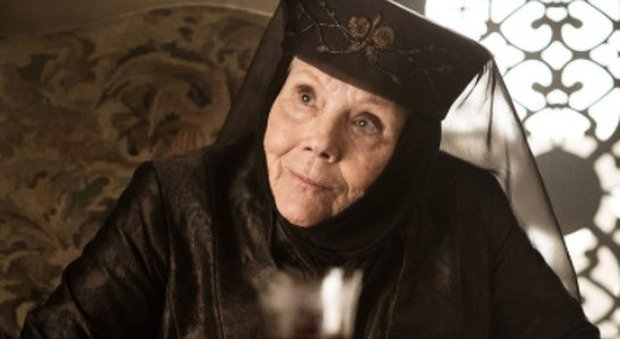 Morta Diana Rigg, l'attrice ha interpretato Olenna Tyrell in Game of Thrones