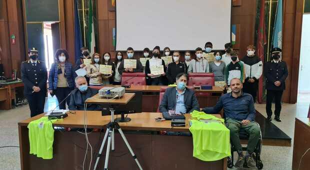 Settimana europea sulla sicurezza stradale, in Provincia l'incontro con gli studenti reatini