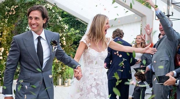 Foto Matrimonio Bohemien : Gwyneth paltrow sposa a anni matrimonio bohémien con il