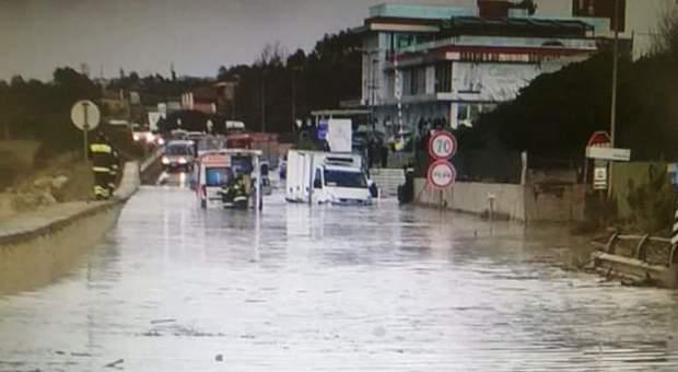 Bomba d'acqua sul litorale: Civitavecchiae Santa Marinella in ginocchio - Il Messaggero