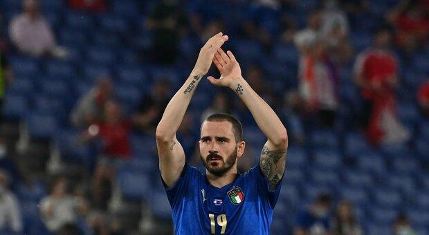Italia-Austria, azzurri alla vigilia del match. Bonucci: «Massimo rispetto per gli avversari, ma abbiamo le facce giuste»