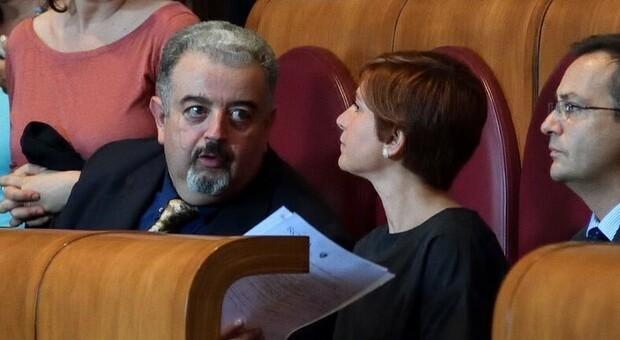 I consiglieri M5S di Roma, Marco Terranova e Donatella Iorio