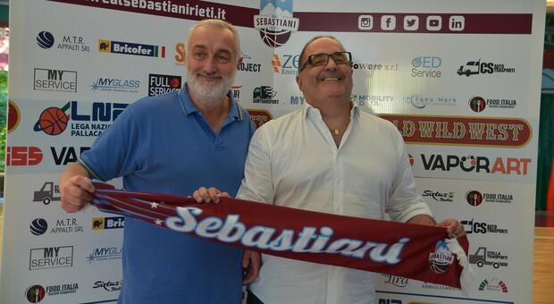 Roberto Pietropaoli e Alessandro Giuliani