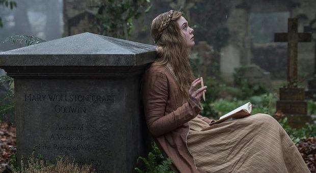 "Dal film ""Mary Shelley"" (2017) di Haifaa Al-Mansour"