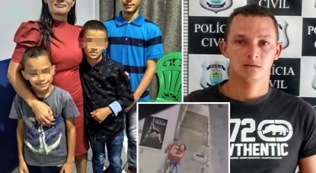 L ex compagna (mamma di 4 figli) lo blocca su WhatsApp, lui la uccide con decine di coltellate
