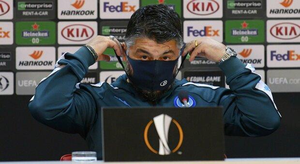 Napoli, Gattuso non si fida: «Sorteggio ostico, il Granada è una squadra forte»
