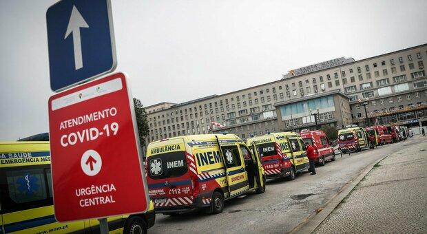 Covid, Portogallo allo stremo: ora si assumono anche medici stranieri