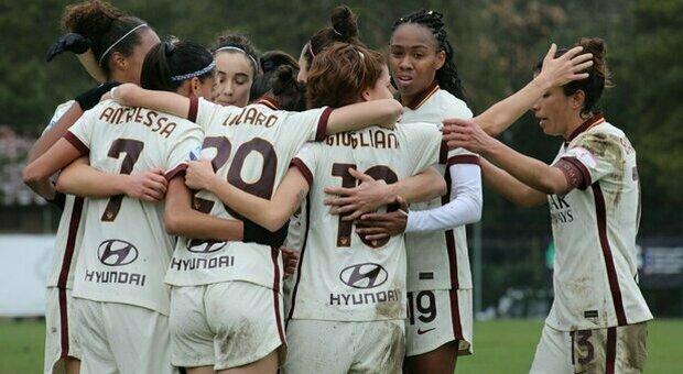 Roma femminile, Spugna: «Coppa Italia da difendere. Obiettivo Champions League»