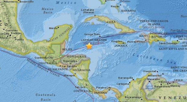Terremoto Ai Caraibi Scossa Di Magnitudo 7 2 Allarme Tsunami A