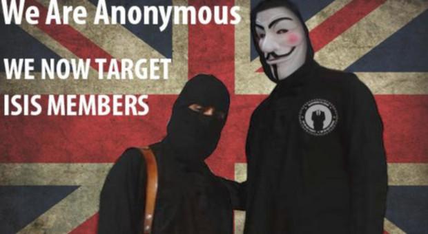 Anonymous oscura centinaia di siti Isis: «Siete un virus»