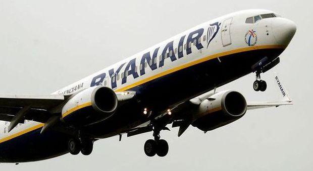 Ryanair, 9 nuove rotte da Roma: obiettivo 8 milioni di passeggeri