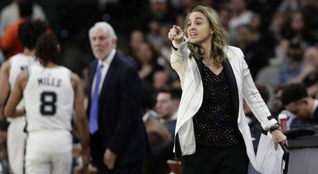 Becky Hammon prima donna a guidare una squadra NBA