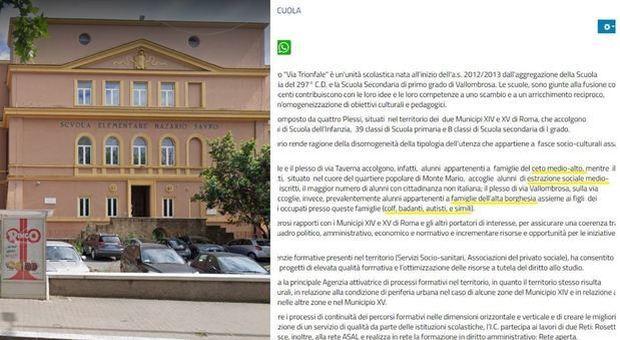 Roma, scuola divide studenti: «Qui figli dell'alta borghesia». Ira ministro, poi la retromarcia