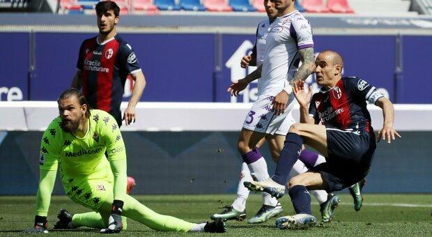 Bologna-Fiorentina, spettacolo e 6 gol ma il 3-3 ha il sapove della beffa per i viola