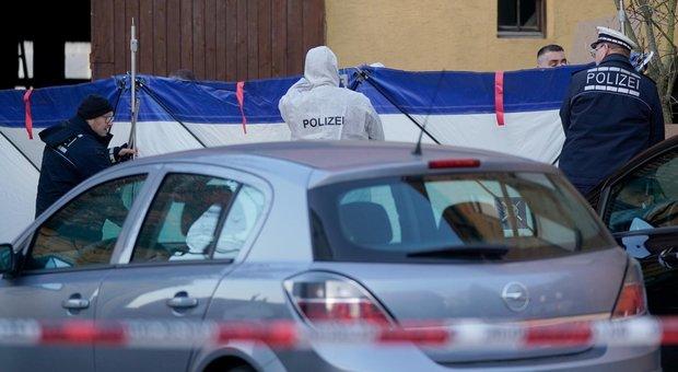Sparatoria in Germania, almeno 6 morti