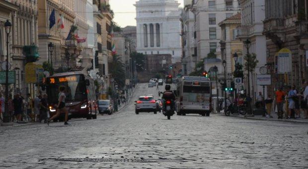 Sampietrini, addio a via Nazionale e Aventino: lavori da gennaio