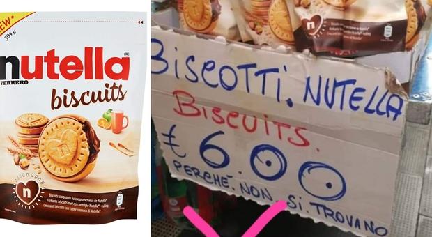 Nutella Biscuits, a Napoli spuntano i bagarini: confezioni vendute fino a 8 euro