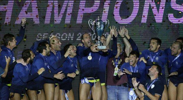 Pallanuoto, la 9^ Champions della Pro Recco, sul Ferencvaros. Volpi e il club più titolato al mondo. Terza Brescia, scudettata