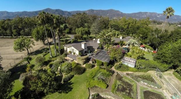 immagine California, Oprah Winfrey spende 28 milioni di dollari per acquistare un ranch a Montecito e non avere vicini