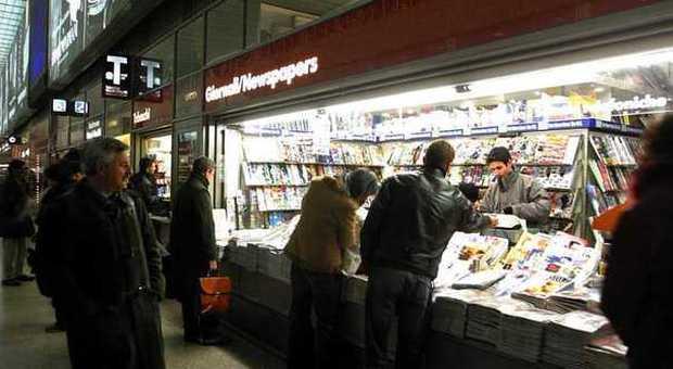 Non solo giornali: nelle edicole si venderanno anche bibite e snack